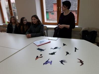 Paukščio motyvas Johaneso Bobrovskio kūryboje