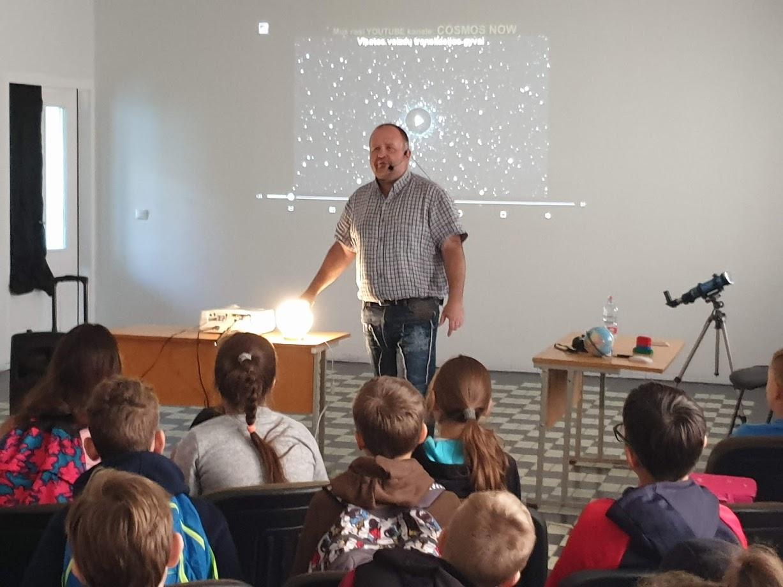 Astronominė diena mokykloje per rudens lygiadienį