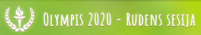 Olympis 2020, ruduo